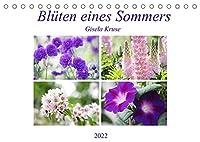 Blueten eines Sommers (Tischkalender 2022 DIN A5 quer): Abwechslungsreich, farbenfroh, strahlend. Sommerblumen von ihrer schoensten Seite (Monatskalender, 14 Seiten )
