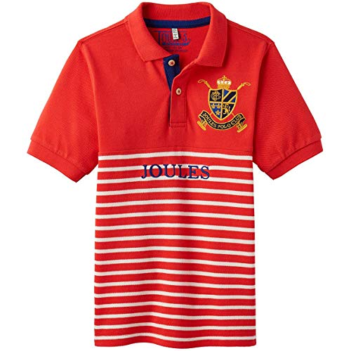 Tom Joule Joules Harry Polo-Shirt (3-12 Jahre) 7-8 Melon Red