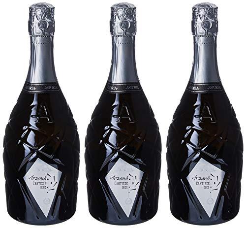 Astoria Cartizze Docg'Arzana'Spumante - 3 bottiglie da 750 ml