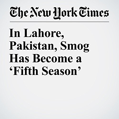 In Lahore, Pakistan, Smog Has Become a 'Fifth Season' copertina