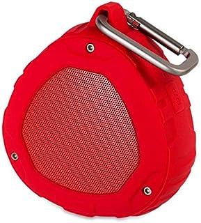 مكبر صوت S1 بلايفوكس لاسلكي محمول مع توافق ان في سي وبلوتوث 4.0، ميكروفون مدمج، مقاومة للماء اي بي اكس 4 - لون احمر من نيلكين