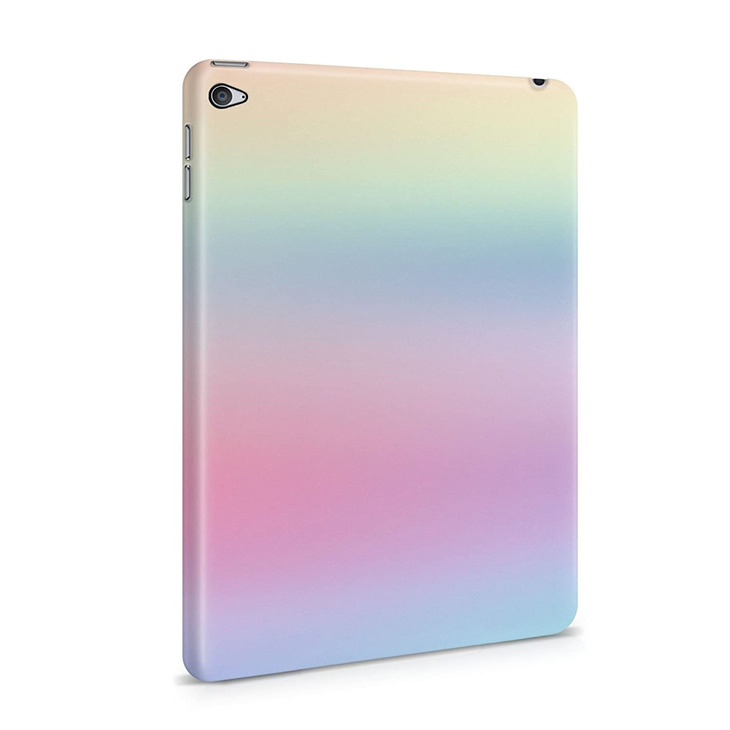 Trippy Rainbow Color Spectrum Plastic Tablet Snap On Back Cover Shell For iPad Mini 4
