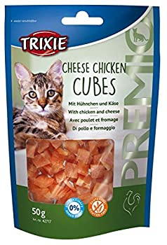 Trixie - Friandise Pour Chats - Premio Cheese Chicken Cubes - 50 G