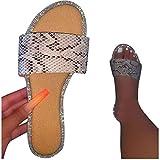 Sandals For Women Casual Summer Sale Eduavar Women Sandals Slippers Summer Fashion Solid Buckle Flip Flops Anti-Slip Bohemia T-Strap Sandals Flat Women Shoes Beach Casual Ladies Plus Size Rome Sandals