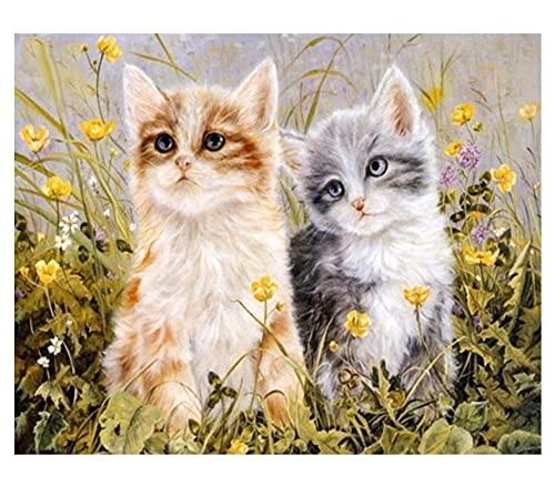 Pintura Por Kits De Números Para Niños Fotos De Animales Gatos Decoración De Navidad Decoraciones Regalos