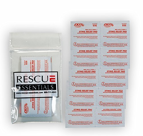 STING RELIEF WIPES (10 PACK)