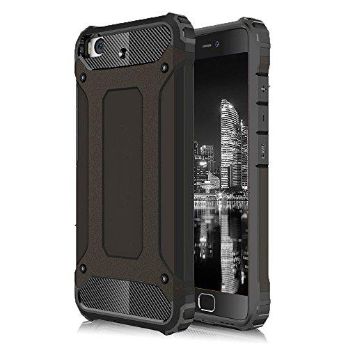 Carcasa Híbrida para Xiaomi Mi 5s | Silicona | en Negro Protección Máxima