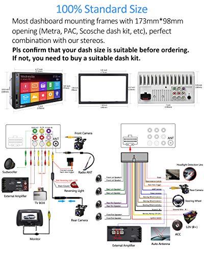 P.L.Z. MP-800 Touchscreen Car Stereo