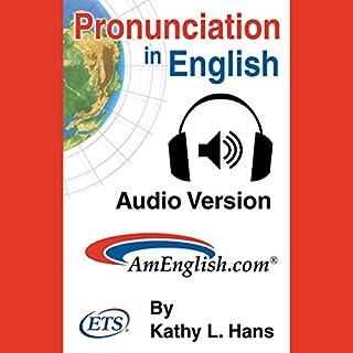 Pronunciation in English Audiobook audiobook cover art