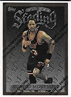 Alonzo Mourning 1996-97 Topps Finest Bronze Miami Heat Card #78