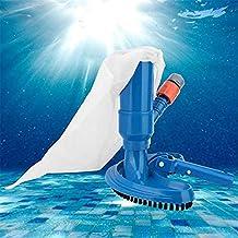 Ysislybin Aspirador de vacío para Piscina, Aspiradoras de Fondo de Piscina,Juego de Limpieza para Piscina,Aspirador De Piscina Portátil Accesorios De Limpieza,Herramienta de Limpieza subacuática