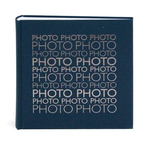 fotoalbum Artbene Leinen 23x23cm nachtblau