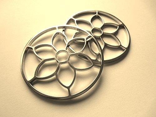 1 Paar Blumen Räder - PS Blumenzaum - Jasmin - Gebisslose Zäumung, Bitless Bridle