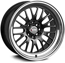 XXR Wheels 531 Chromium Black Wheel with Machined Finish Lip (15 x 8. inches /4 x 100 mm, 0 mm Offset)