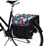 BikyBag Clásica - Doble Alforjas Bolsa para Bicicleta (Margarita)