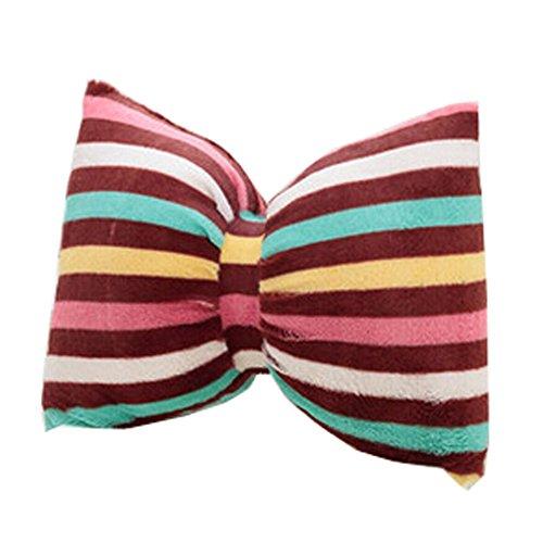 Blancho Colorful Coussin bowknot Retour Soutien lombaire Dossier Oreiller, I