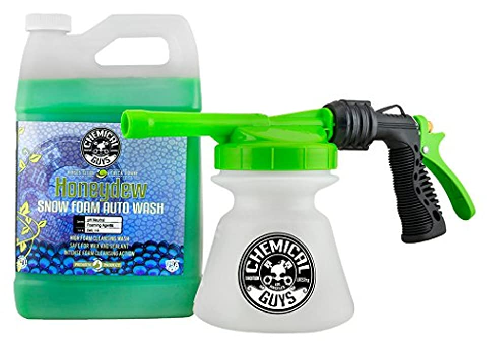 外交カウントアップマイコンChemical Guys hol310雪Foam Auto Wash (1ガロン、Torq雪Foam Blaster r1?Foam Gun & Honeydew、128?flオンス、1パック