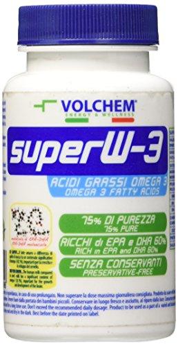 Volchem Super Omega 3 / Integratore Acidi Grassi Omega 3 / 100 Capsule