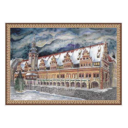 Dresden Onlineshop Adventskalender Leipzig Altes Rathaus Künstler-Adventskalender Veränder-Dich-Motive