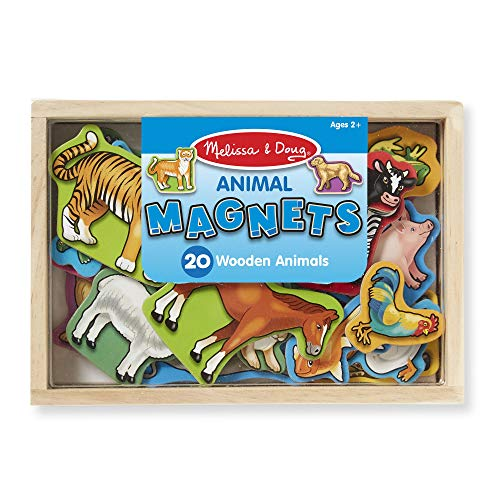 Animal Magnets are fun Easter basket stuffers for toddlers
