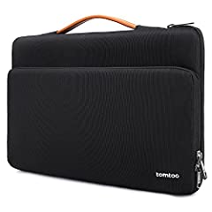 Ultra Protection: Compared with other similar laptop case, tomtoc case comes with original CornerArmor patent design at the bottom and features ultra-thick, yet lightweight protective cushioning to ensure your laptop will remain safe from drops, bump...