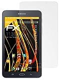 atFolix Panzerfolie kompatibel mit Samsung Galaxy Tab A 7.0 Schutzfolie, entspiegelnde & stoßdämpfende FX Folie (2X)