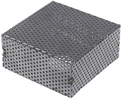 Sammic Filtre d'aspiration pour lave-vaisselle SV-19, S-21, E-19, S-20, LVT-19, ST-3000 Longueur 100 mm Largeur 100 mm Hauteur 49 mm