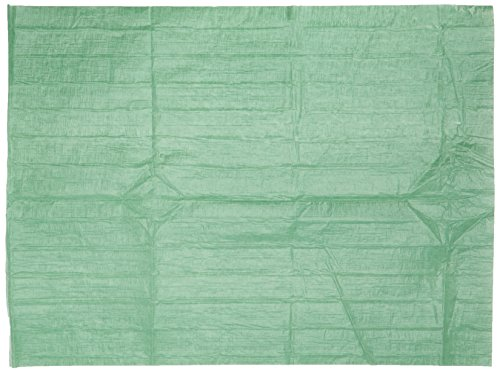 Kimcare 7093 OP-Abdecktücher, 37,5 cm (L) x 50 cm (B), 4 Beutel x 100 Abdecktücher, grün