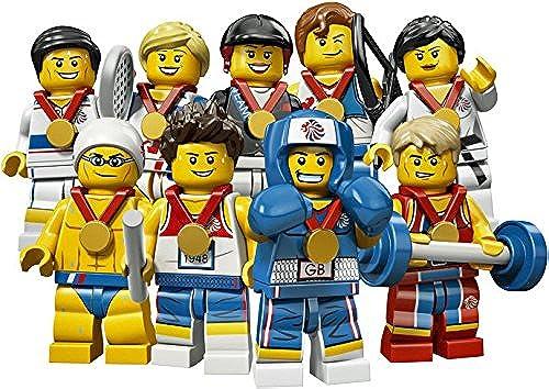London 2012 ympische Memorabilia  Team GB  9 go Mini Figuren komplett-Set (8909)