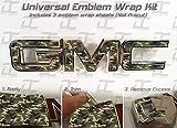 Decal Concepts GMC Sierra/Yukon CAMO Emblem Overlay Wrap Kit (07-20) (Standard Camo)