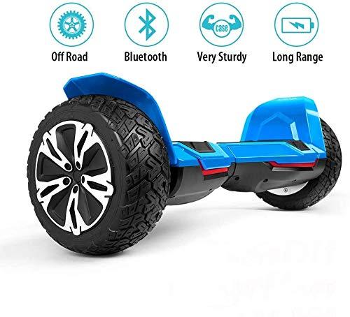XYY Selbst Balancing Scooter 8,5 Zoll Bluetooth Balance Board 700W Motor mit Bluetooth Musik-Lautsprecher intelligente Bunte Blitze Rad Brushless Motor Geschenk for Freunde & Kinder