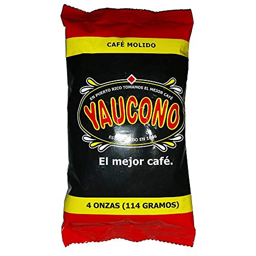 Yaucono Ground Coffee Fraction Packet, 4 Ounce (Pack of 1)