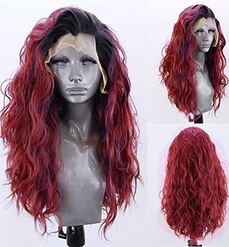comprar pelucas mujer roja ondulada online