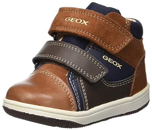 Geox Baby Jungen B New Flick Boy B Sneaker, Braun (Brandy/Navy C6af4), 20 EU