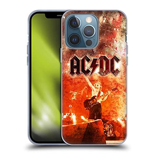 Head Case Designs Licenza Ufficiale AC/DC ACDC Live At River Plate Arte Album Cover in Morbido Gel Compatibile con Apple iPhone 13 PRO