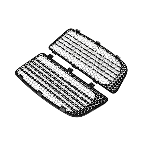 Rumors Black Motorcycle Radiator Grills &Screensw/Mesh Grille Fit for Harley Electra Glide Low Ultra Limited Flhtkl