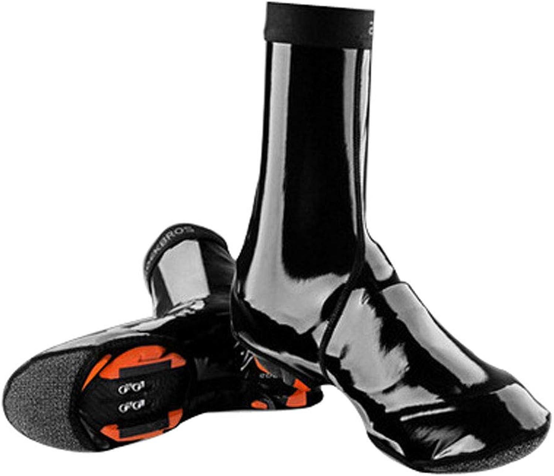 Cycling Waterproof shoes Cover Mountain Bike Warm Road Bike Lock shoes shoes Cover Riding Equipment M, XL Nylon + Waterproof Fabric