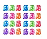 iFavor123 Pack of 24 Assorted Bright Colors Tie...
