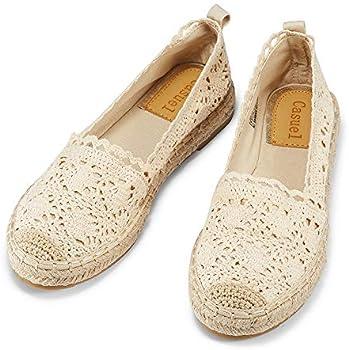Casuel Women's Espadrille Canvas Comfortable Loafer