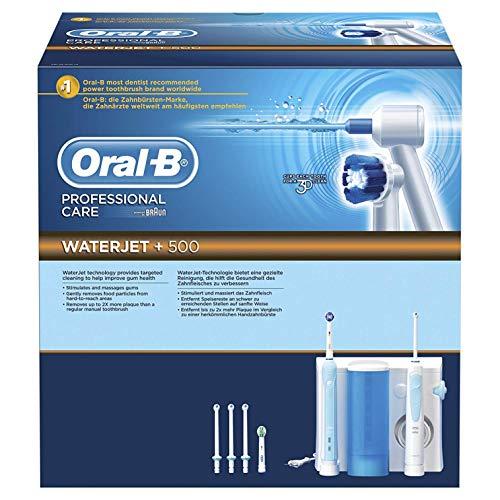 Spazzolino Elettrico Oral-B Professional Care 500 e WaterJet con Tecnologia Braun