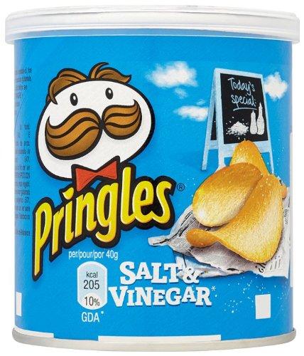 Pringles Salt & Vinegar 12x40g