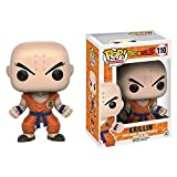 Funko Pop Dragonball - Krillin #110 Vinyl 3.9inch Animation Figure Anime Derivatives,Multicolor Supe...