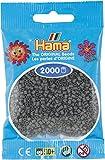 Hama Mini-Bügelperlen 2000 en Bolsa Gris Oscuro