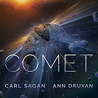 Comet                   By:                                                                                                                                 Carl Sagan,                                                                                        Ann Druyan                               Narrated by:                                                                                                                                 Seth MacFarlane,                                                                                        Bahni Turpin                      Length: 12 hrs and 28 mins     4 ratings     Overall 4.8