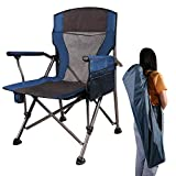 CAMPMOON Camping Folding Chair for Adults, Comfortable Lightweight Portable Heavy Duty Folding...