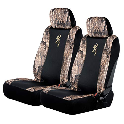 Browning Morgan Low Back Seat Cover | Realtree Timber | 2-Pack