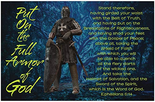 Armor of God Inspirational Christian Poster-G56
