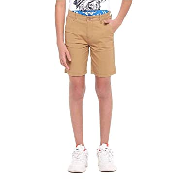 STOP by Shoppers Boys Solid Chino Shorts (206820462-P)