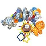 Leorx Spiral Toy, pram, Toy, Bed Hanging, Toy, Baby Car Seat Toy