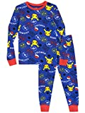 Pokemon Boys' Pikachu Pajamas Size 6 Blue
